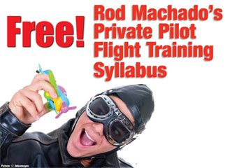 Rod Machado Free Pilot Training Course Syllabus